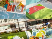 mod beach wedding at hotel del coronado