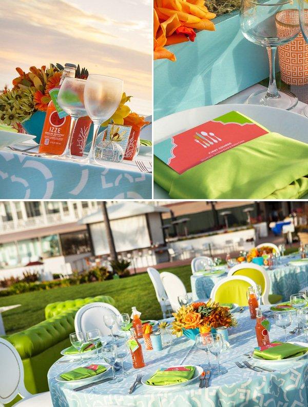 mod beach wedding at hotel del coronado