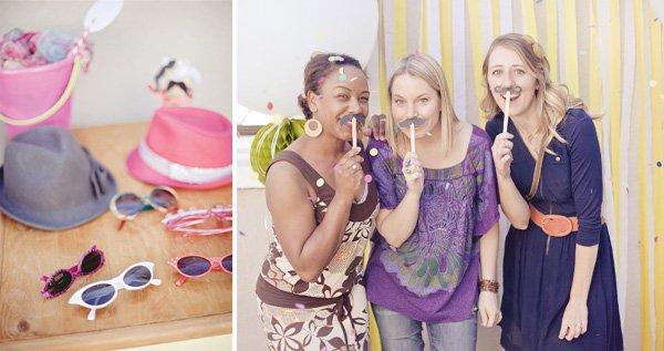 pink hula hoop birthday party props