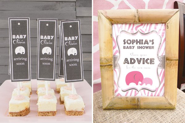 pink safari baby shower advice for a new mom