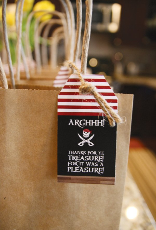 pirate party treasure favors
