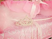 pink princess birthday party tiara