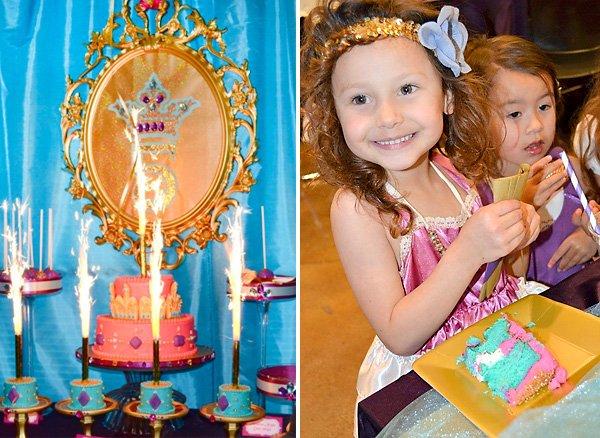 princess jasmine birthday party cake