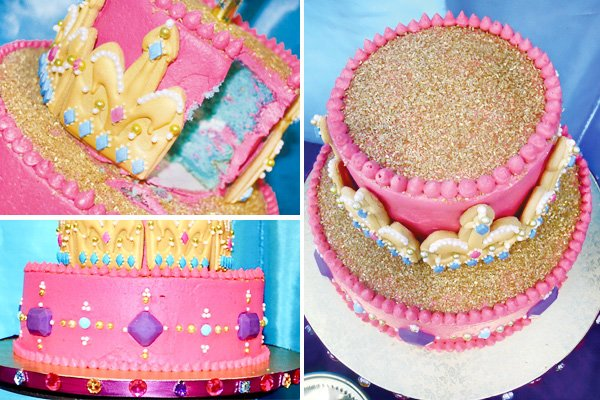princess jasmine birthday party cake decoration