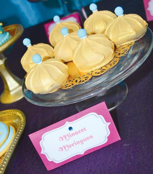 princess jasmine birthday party labels