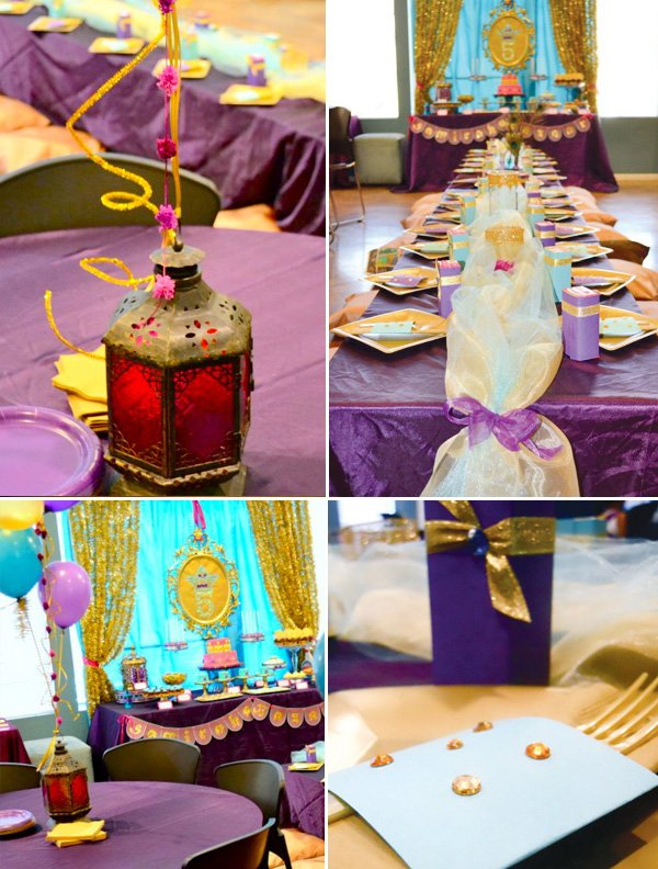 Princess jasmine birthday party arabian nights for Arabian nights decoration