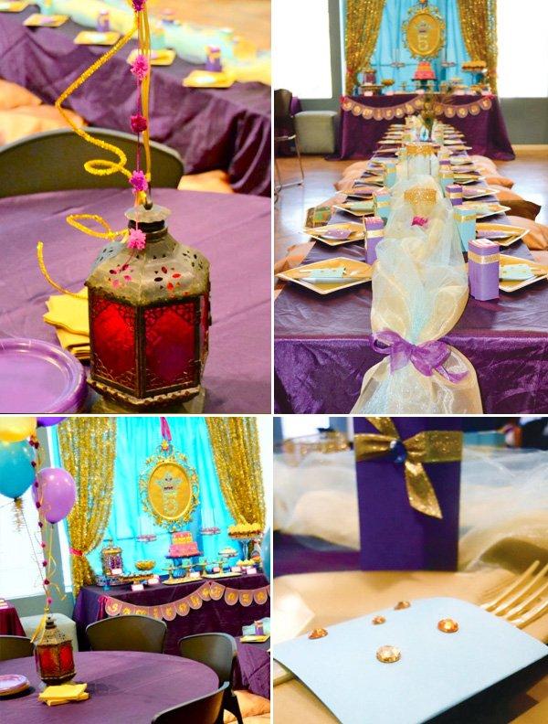 Princess Jasmine Birthday Party (Arabian Nights) // Hostess