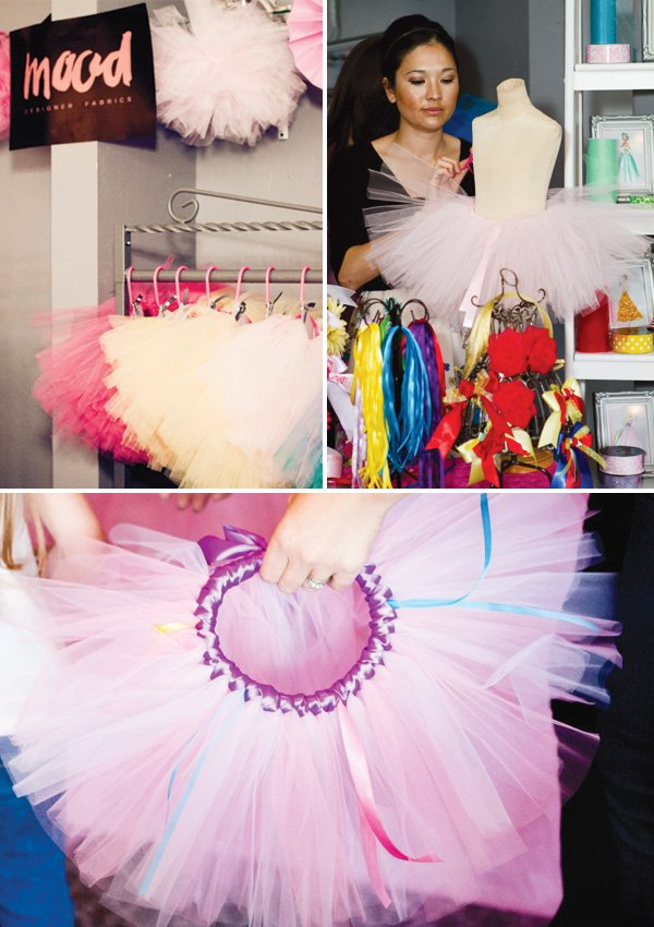 project runway mood shop tutu station