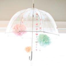 rain shower party umbrella