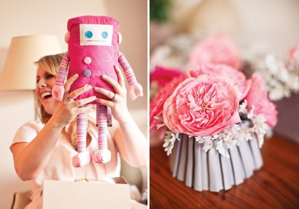 ribbons and ruffles baby shower flowers and gifts
