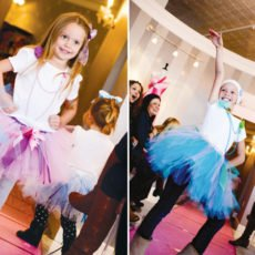 runway models for a fashion princess party