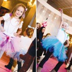 runway models for a fashion princess party