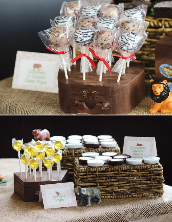Wild Jungle Safari Themed Baby Shower Hostess With