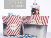 modern and stylish gift boxes