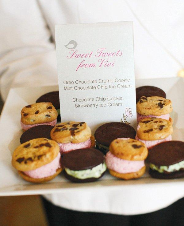 sweet treats cookie ice cream sandwich