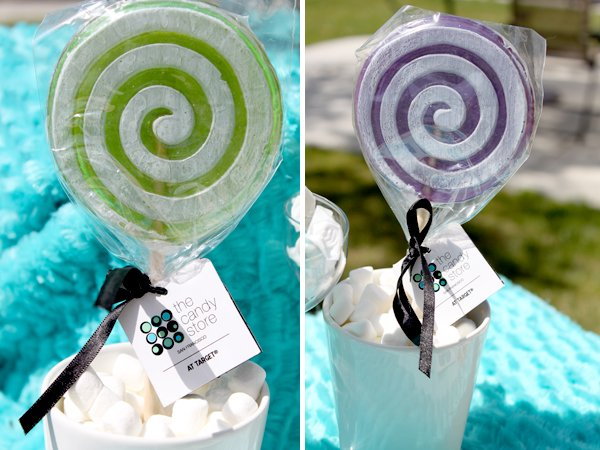 budget chic sweets bar target lollipops