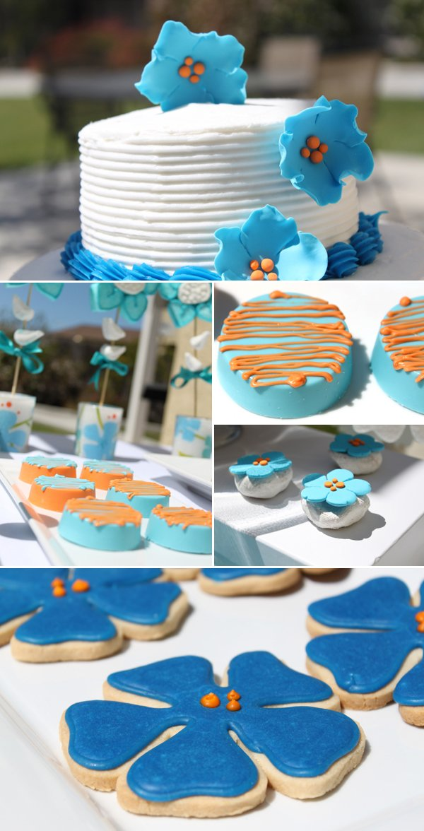 sweets bar designer cookies and cake