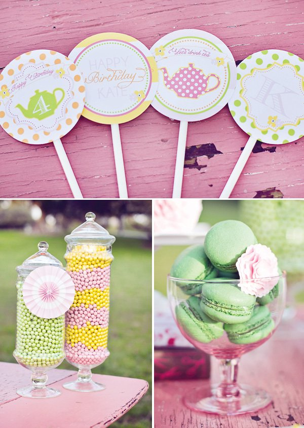 tea party toppers