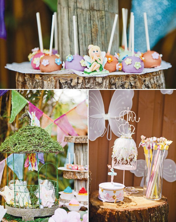 Magical Tinkerbell Party Backyard Pixie Hollow Hostess with the