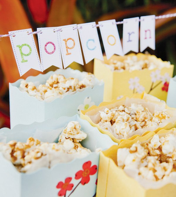 tinkerbell party popcorn in bags