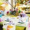 tinkerbell party table setting