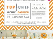Top Chef Surprise Birthday Party