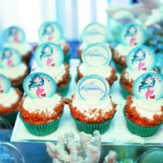 under the sea mermaid cupcakes