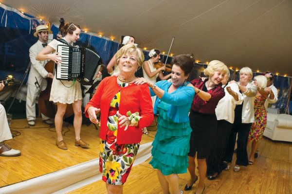 vintage party conga dance