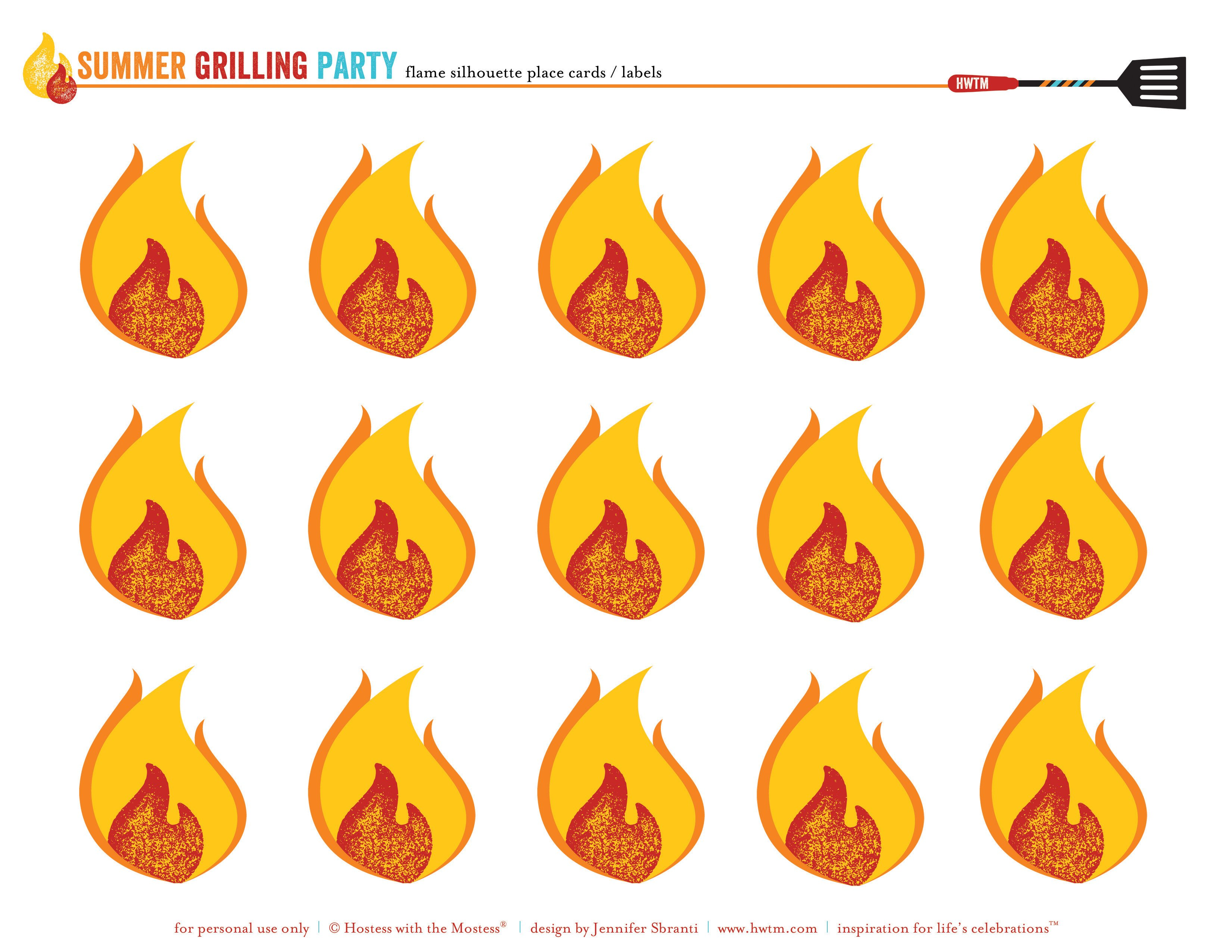 Free Printables Summer Grilling Party Or Bbq Party