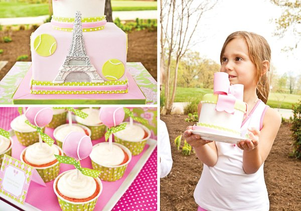 Preppy French Open Inspired Tennis Party