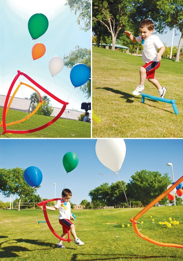 balloon themed party ideas activities