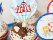 magical circus birthday party chocolate mouse