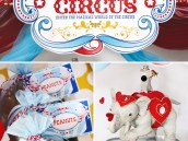 magical circus birthday party decorations