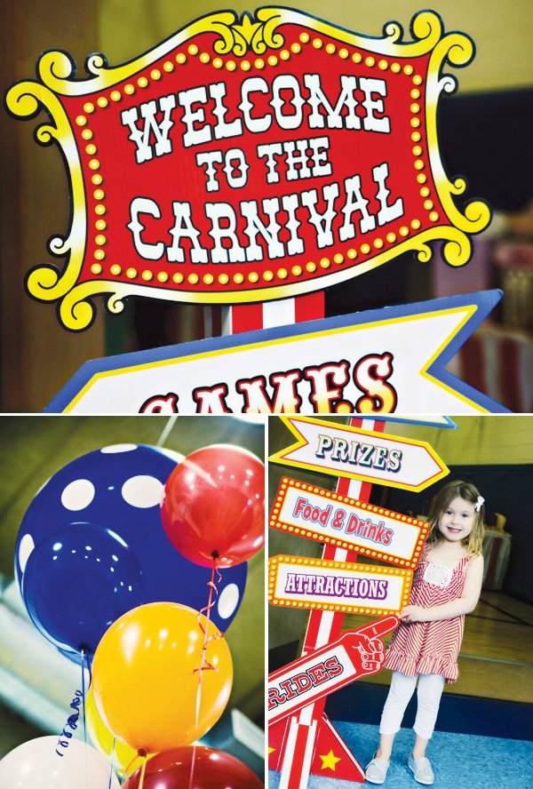 carnival of dreams circus party ideas hostess with the mostess