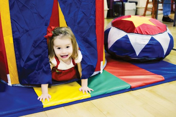 circus party ideas kids big top play area
