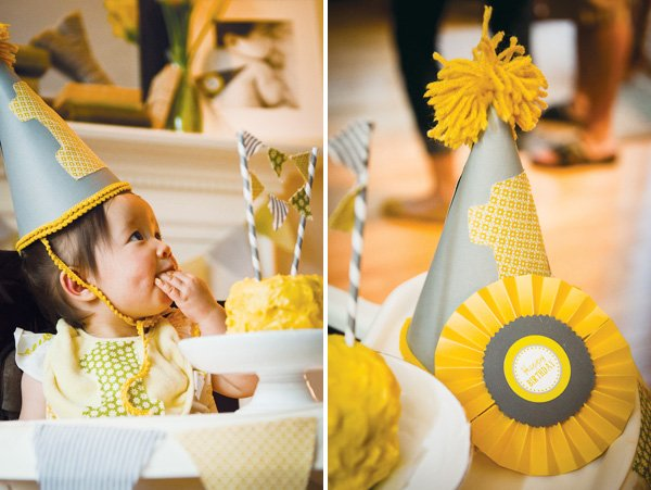 county fair party in yellow