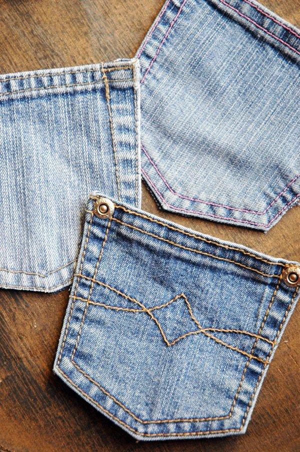 Recycled Denim Pockets