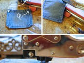 Steps to creating Denim Banner