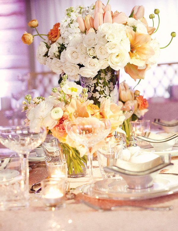 dream wedding event floral centerpiece
