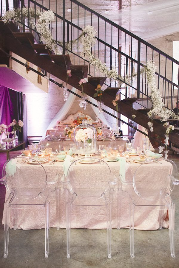 dream wedding event table arrangement