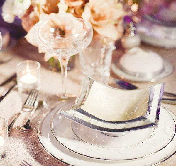 dream wedding event white dishes