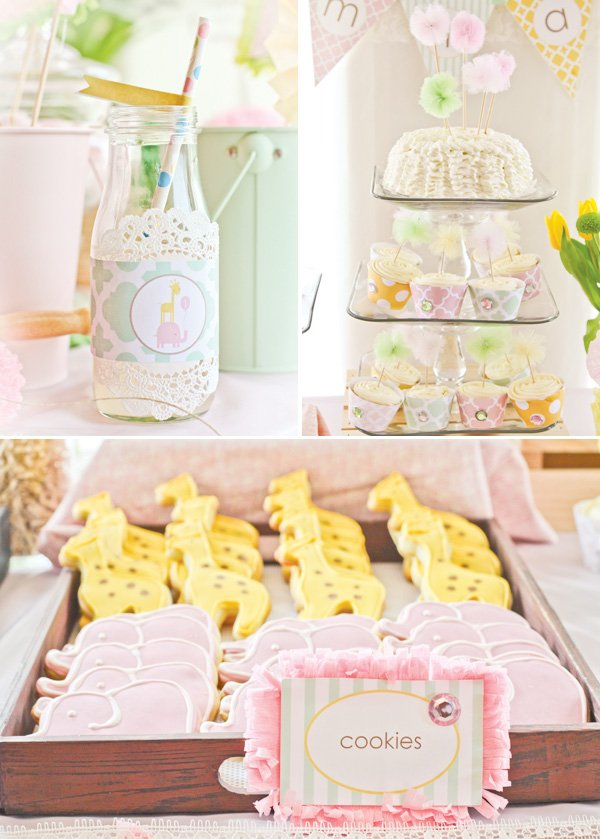 dreamy safari party sweets