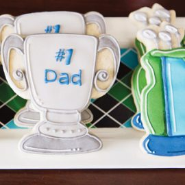 Father's Day Golf Cookies