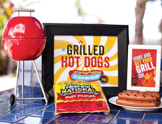 Get Your Grill On ~ Get your grill on summer grilling party theme