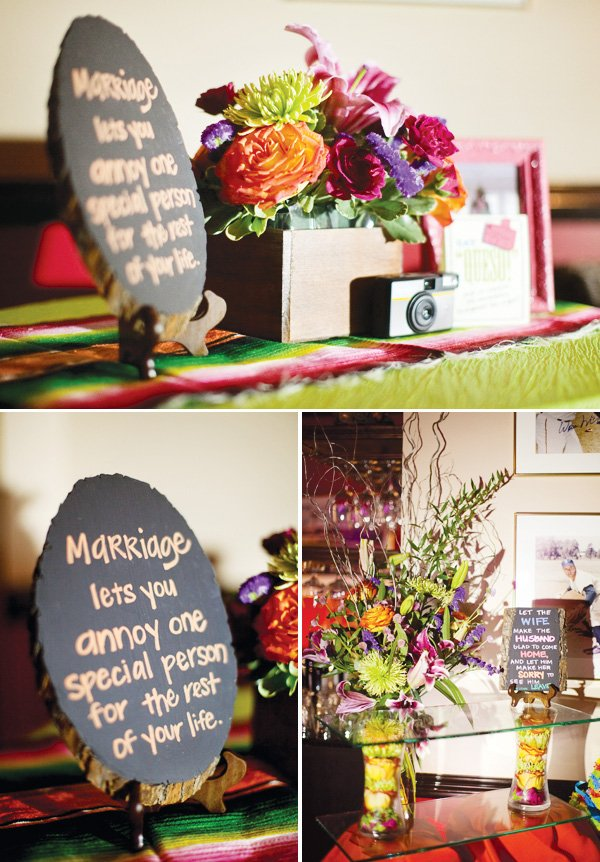 Decorating With Fiestaware Colorful Modern Fiesta Engagement Party Hostess With The Mostess