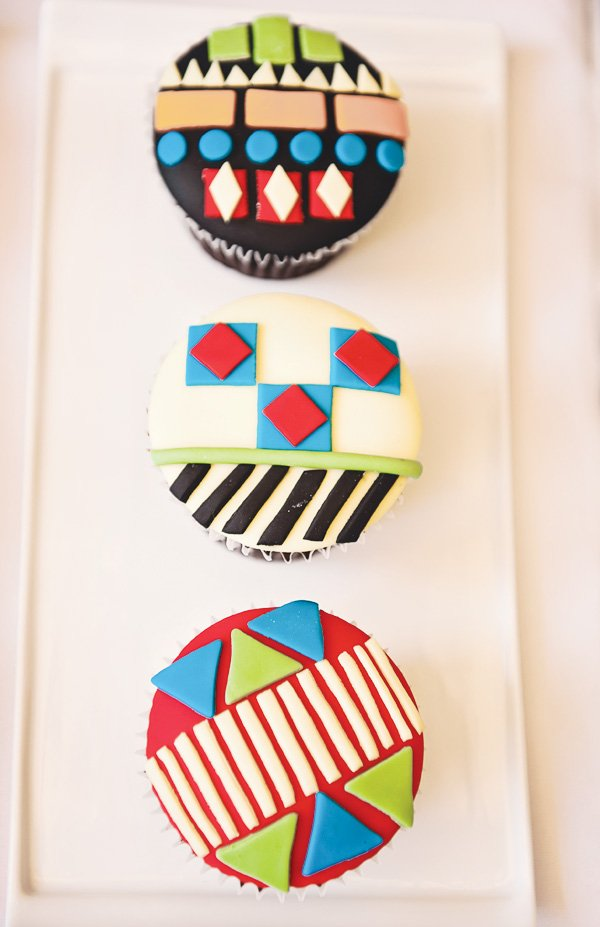 fiesta mexicana twins birthday party cupcakes