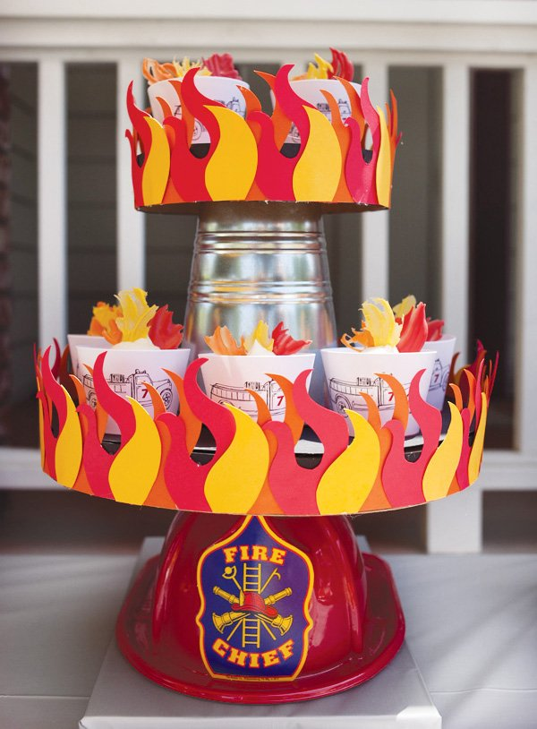 {Super Amazing} Fire Truck Birthday Party// Hostess with ...