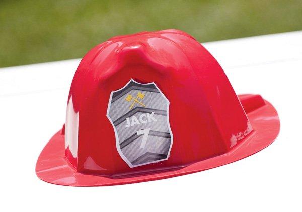 fire man hat