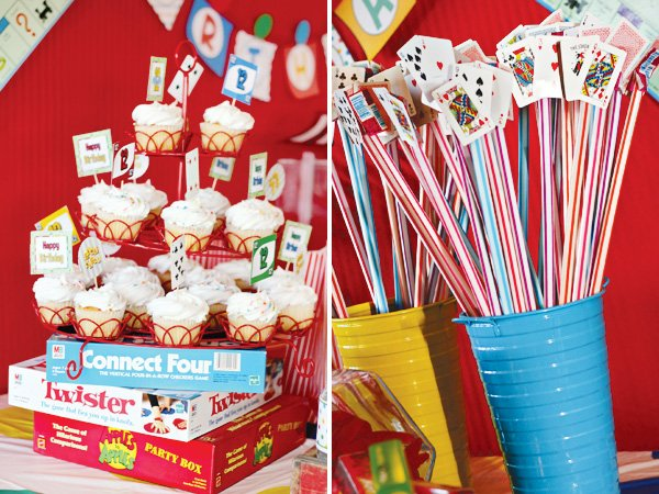 game night party ideas decoration