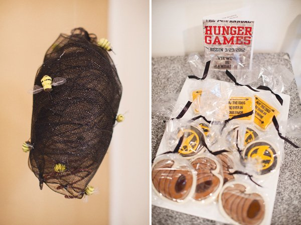 hunger games movie party cookies